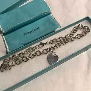 "Vintage Tiffany&Co. 15"" necklace"